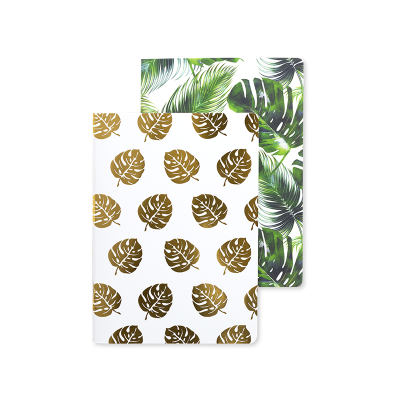 2 Notebook A5  Tropical Palm