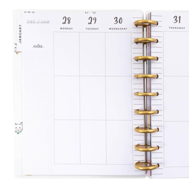 2021 Classic Happy Planner® - Cat Lady Classic Vertical - 12 Months