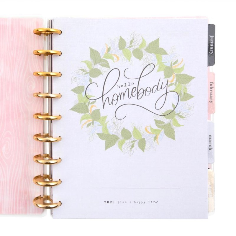 2021 Classic Happy Planner® - Homebody Seasons Deluxe - 12 Months