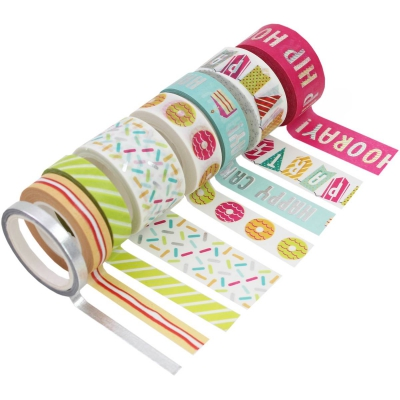 8 Washi Tape PARTY
