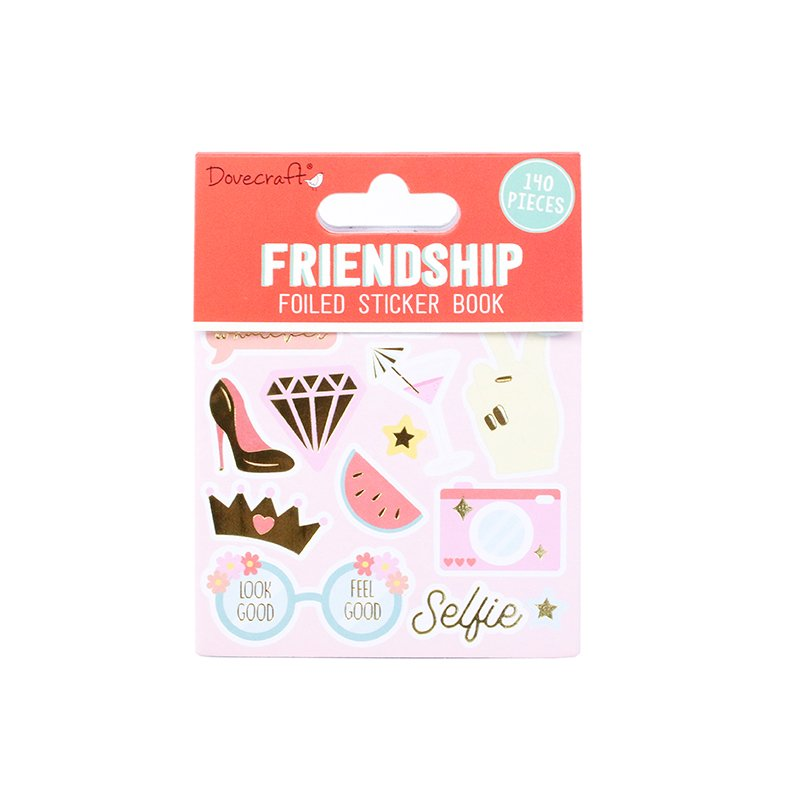 140 Stickers - Friendship