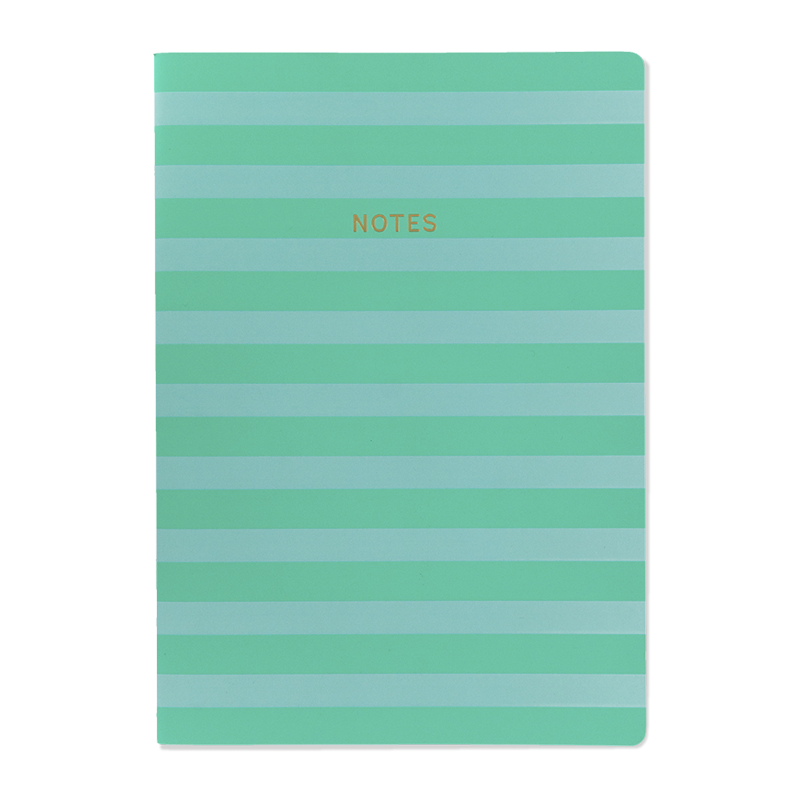Quaderno A4 MINT stripe