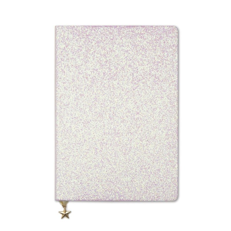 Notebook A5 - Glitter Pink Champagne