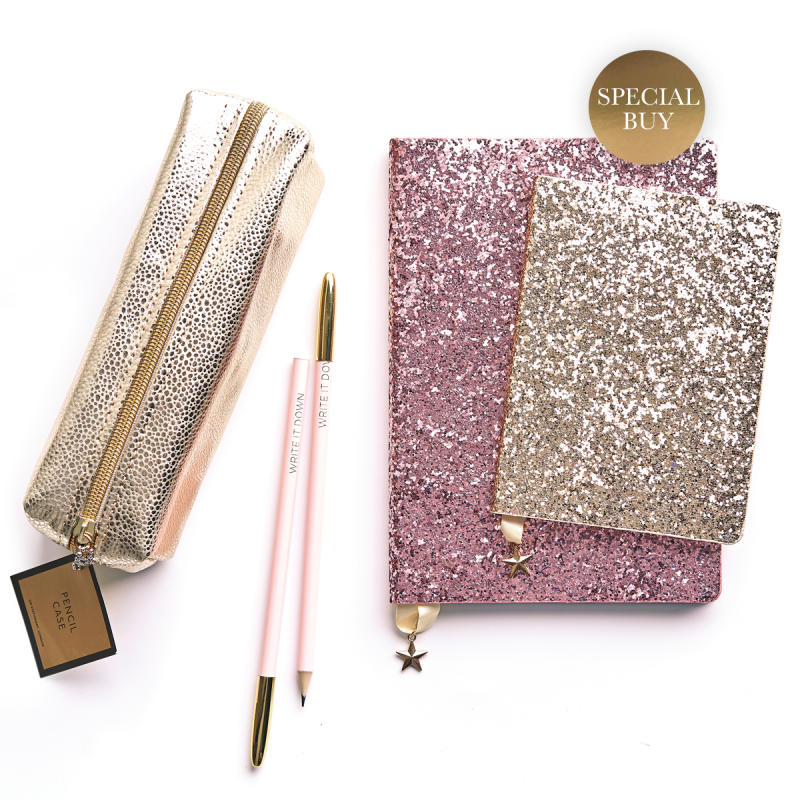 Stationery Gift Set - Glitter