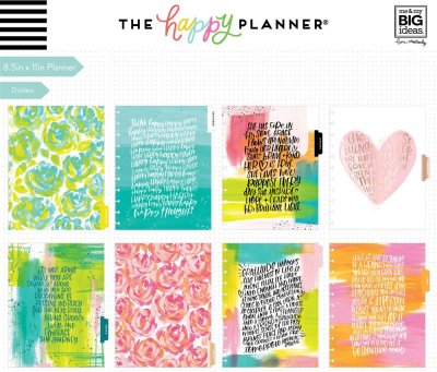 BIG Happy Planner® - Choose To Shine - 18 MESI  2019/20