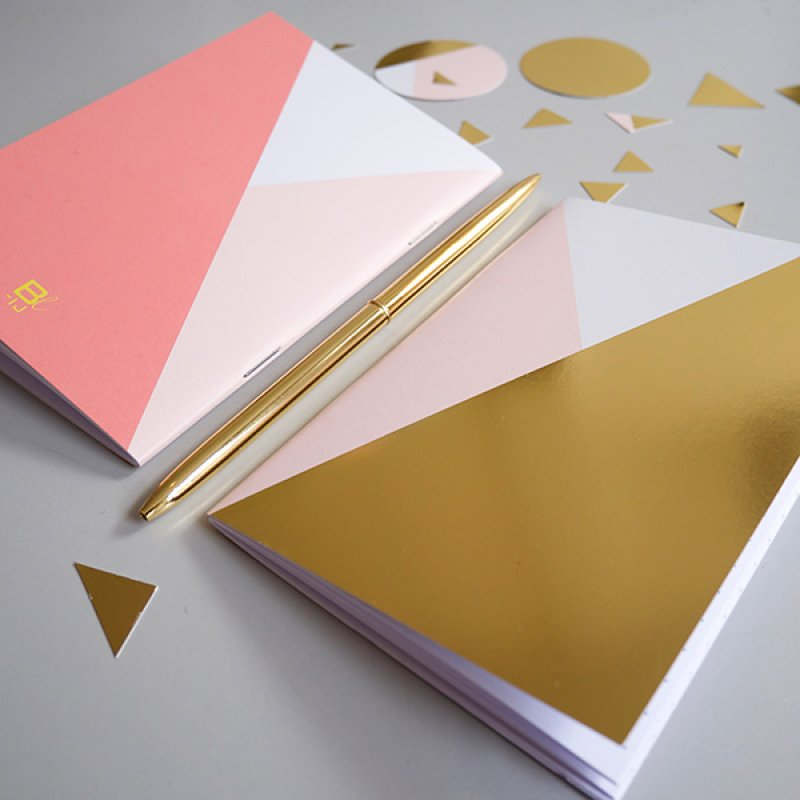 Notebook A6 - Golden Rose
