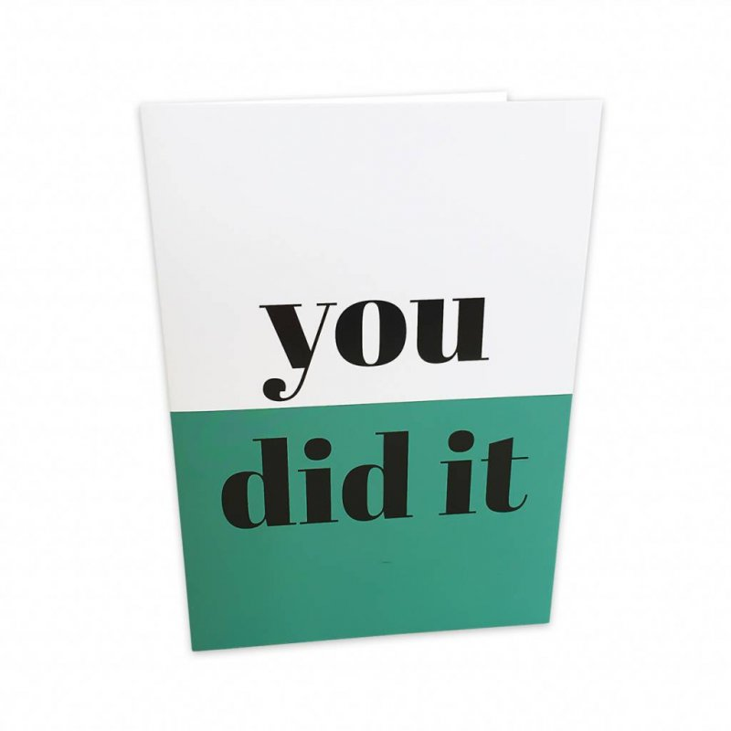 Card - You Did It