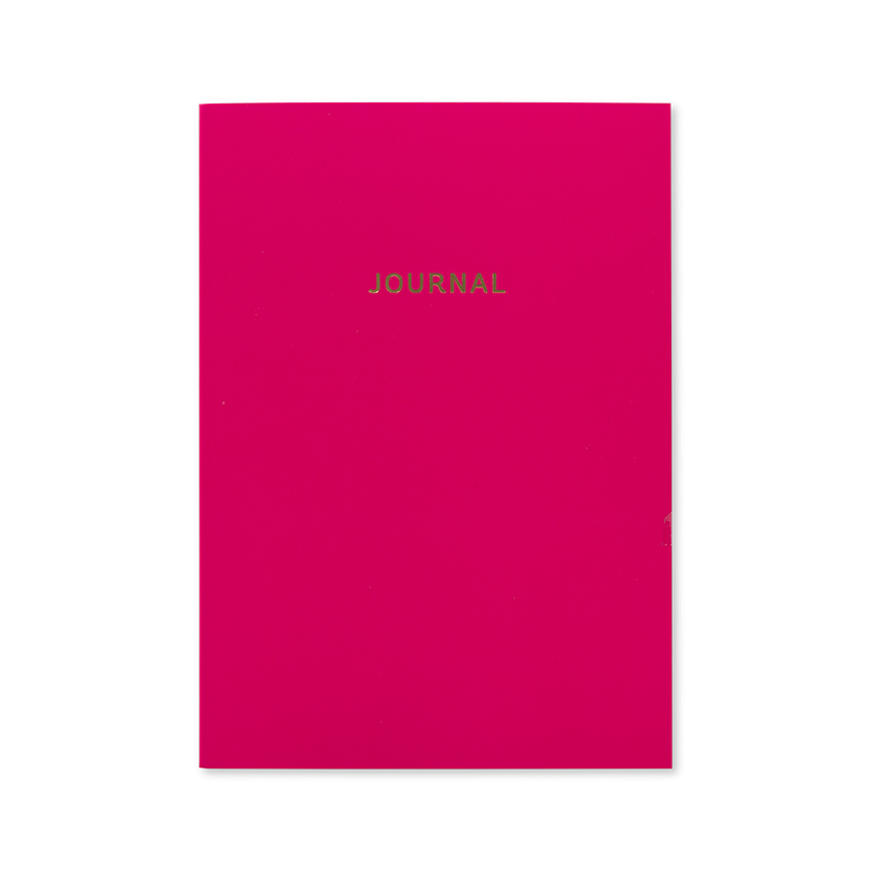 JOURNAL Cerise Pink A5 undated