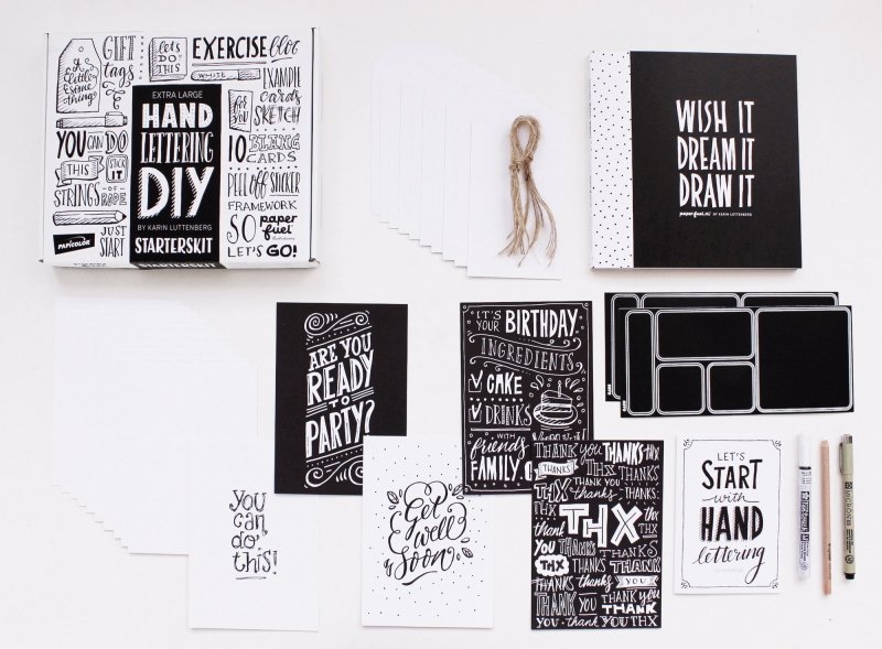 Handlettering STARTER KIT  BOX