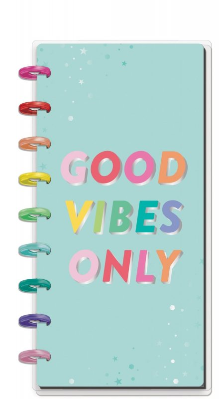 Half Sheet Notebook - Good Vibes Only
