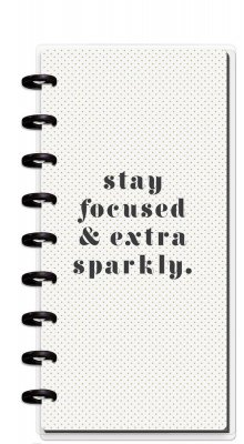 Half Sheet Notebook - Stay Focused