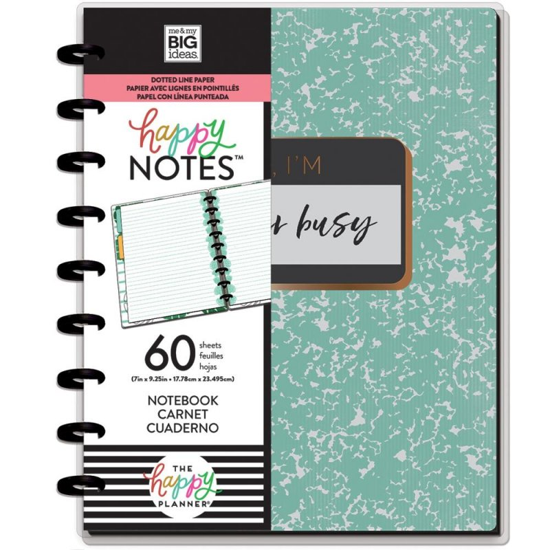 happy planner NOTEBOOK Medium - Don't quit your dream a righe