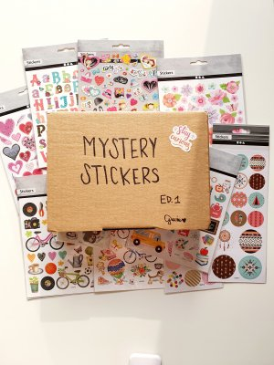 Mystery Stickers Ed. 1