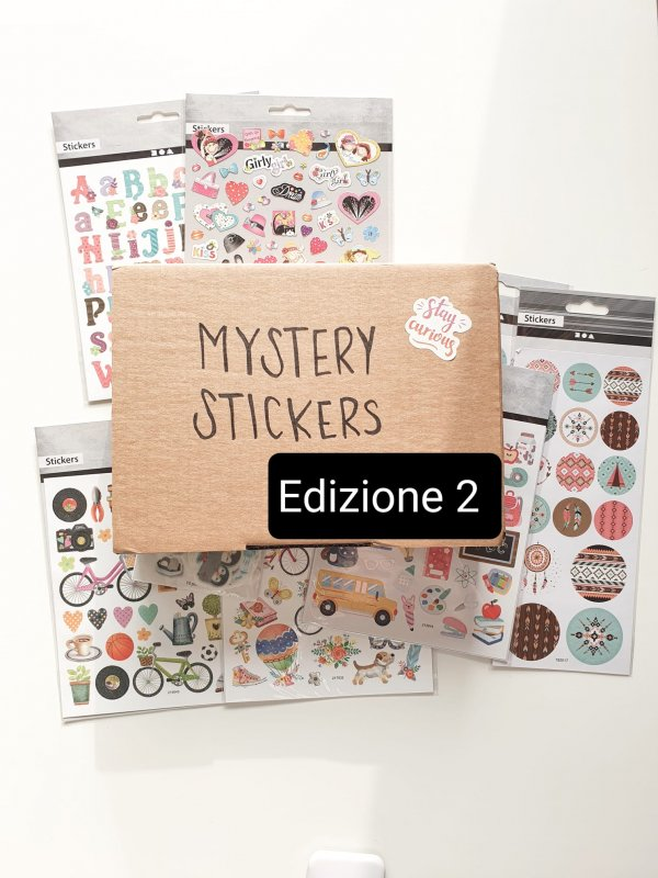 Mystery Stickers Ed. 2