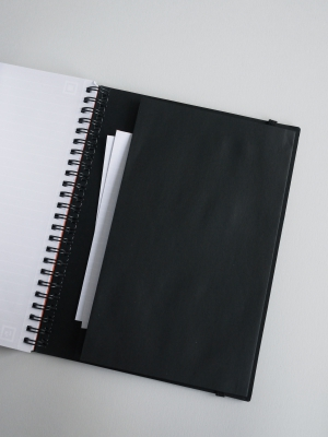 Notebook a spirale A5 a quadretti WHITELINES