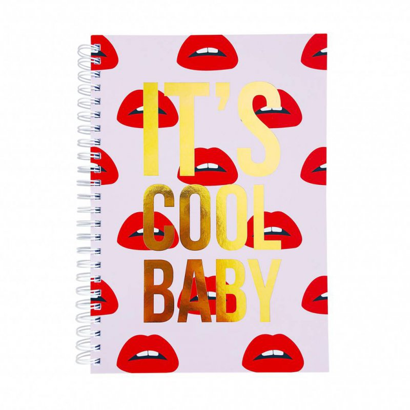 Notebook A5 IT'S COOL BABY
