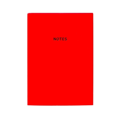 NOTEBOOK A5 lusso - Rosso