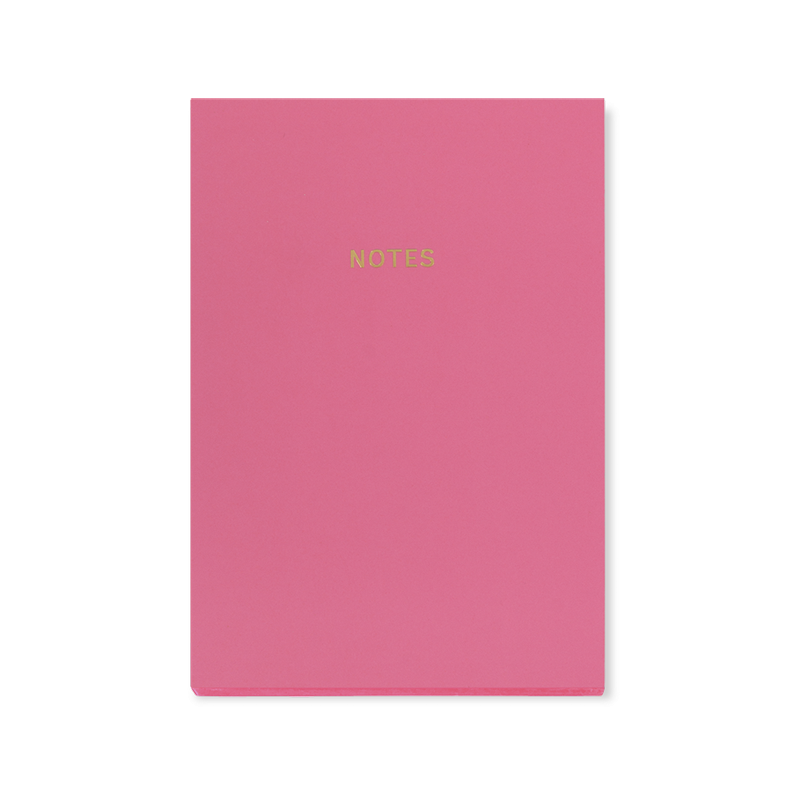 NOTEBOOK A5 lusso - Rosa Candy
