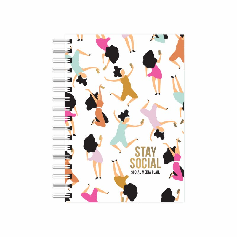 Notebook Stay Social - A6