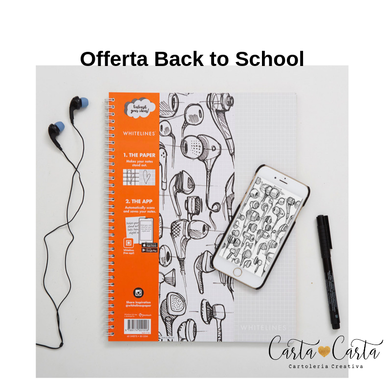 Offerta WHITELINES - Back to school ed.limitata
