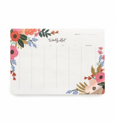 Planner da tavolo Lively Floral