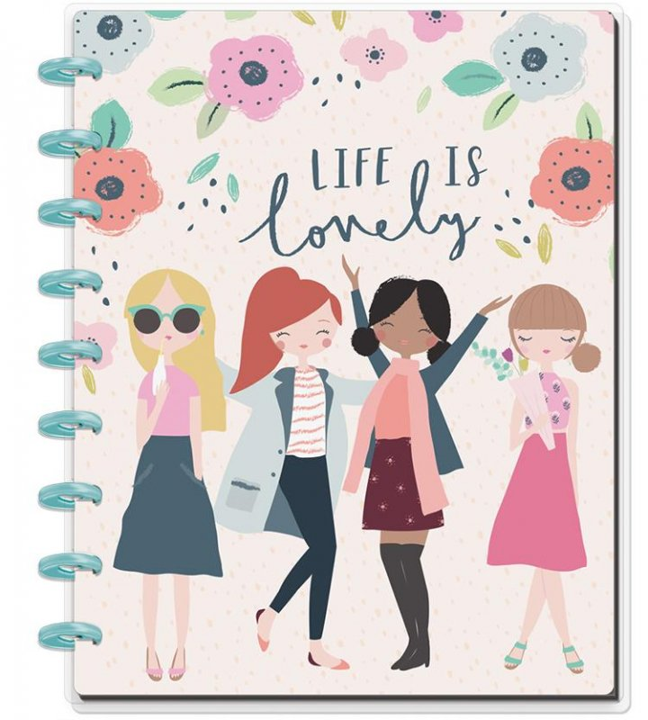 happy planner NOTEBOOK Medium - SQUAD LIFE
