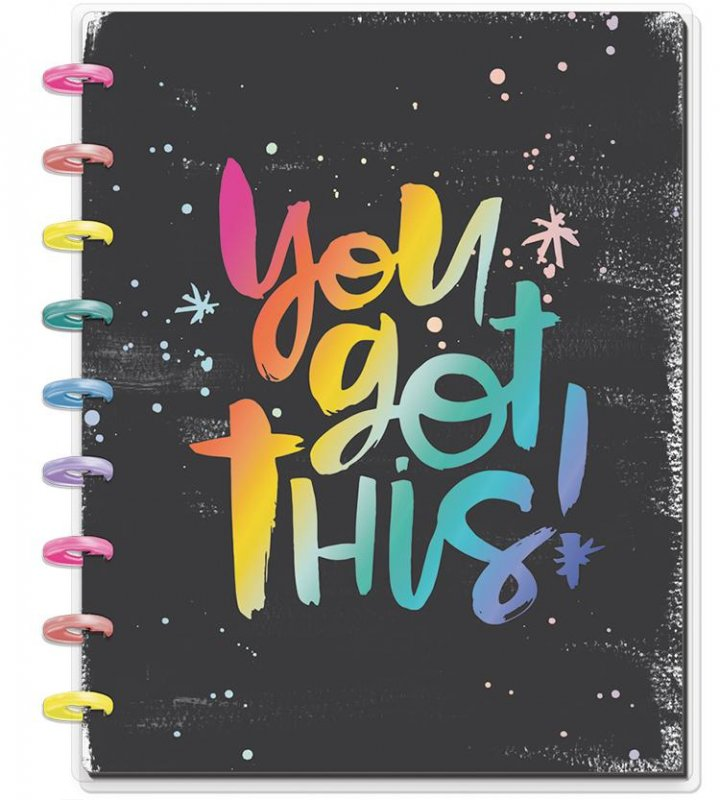 happy planner NOTEBOOK Medium - You Got This