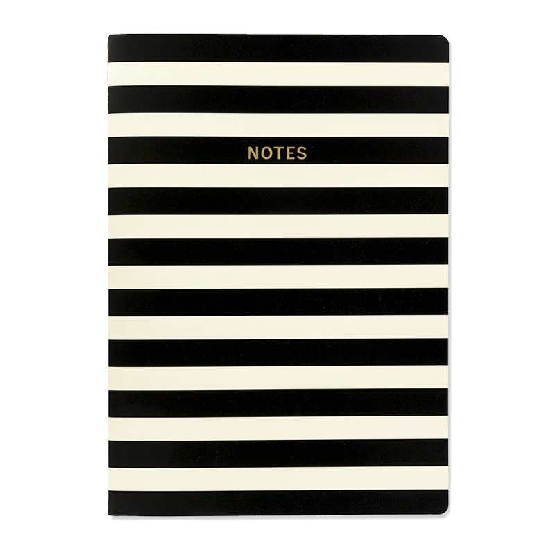 Quaderno A4 Black stripe