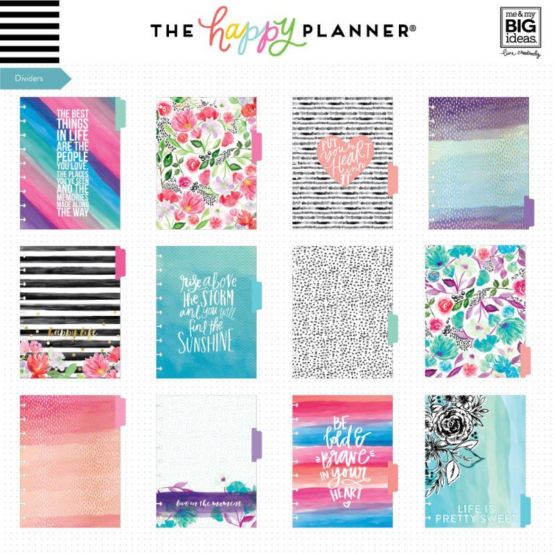 The Happy Planner® 12 Month Box Kit - Best Year Ever NON DATATO