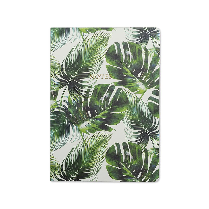 Notebook A5  Tropical Palm