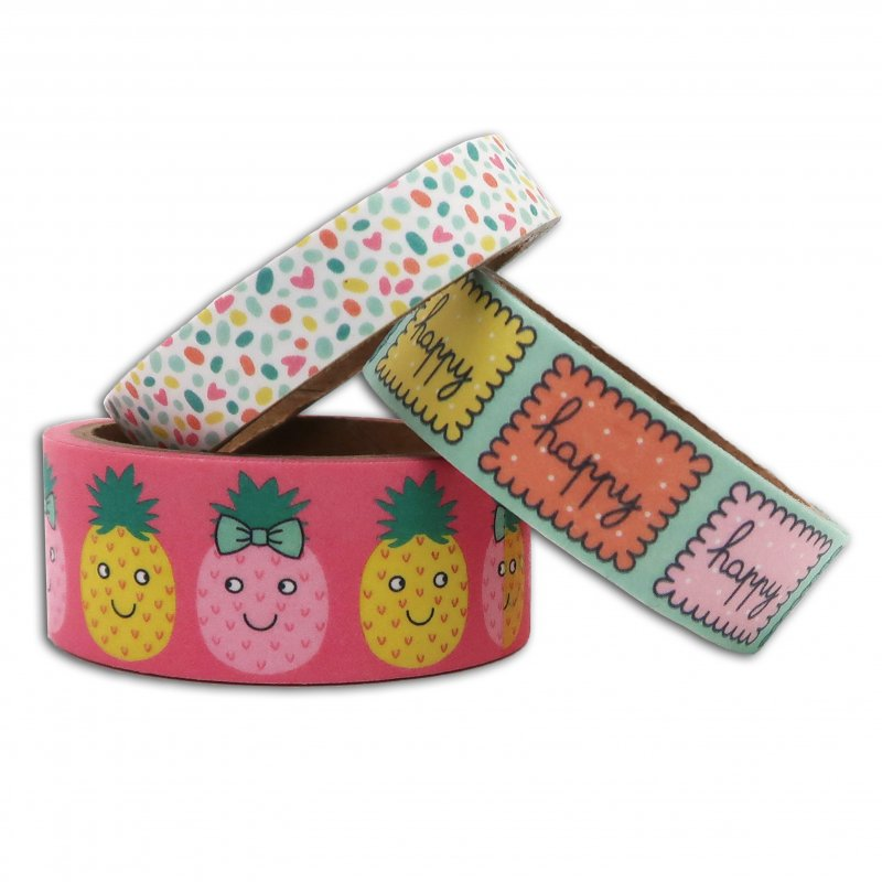 3 Washi Tape Happy Day