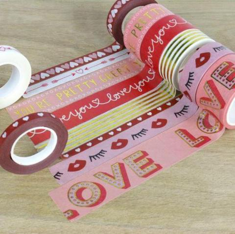 8 Washi Tape LOVE