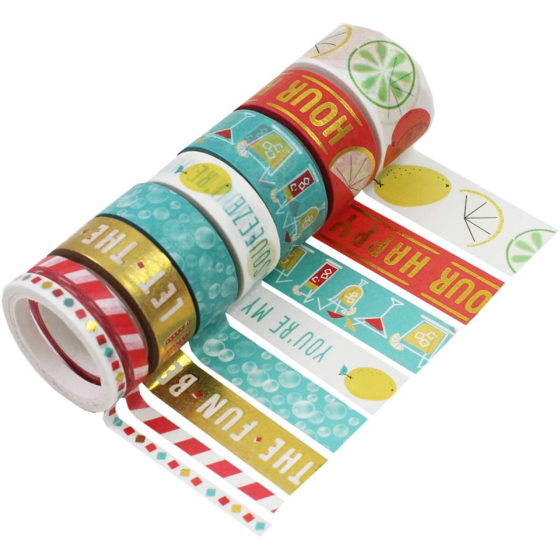 8 Washi Tape Cocktails