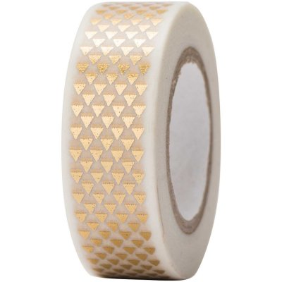 Washi Tape - Triangoli oro