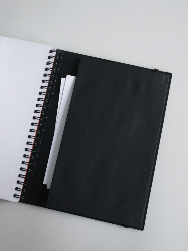 Notebook a spirale A5 a righe WHITELINES