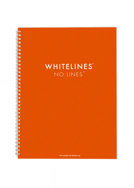 Whitelines - Formato A4 - No lined